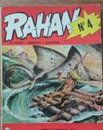 RAHAN N° 4 - RAHAN TRIMESTRIEL N°4 - 80 PAGES - COMPLET - COULEUR - 1972 - Altri Oggetti Fumetti