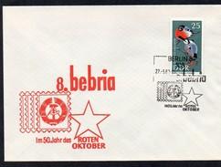 DDR 1967 MiNr.1275 Auf Illustriertem Umschlag  8. BEBRIA   108 BERLIN 8