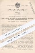 Original Patent - Martin Heusterberg , Berlin , 1900 , Schloss | Türschloss , Tür , Schlosser , Schlosserei !! - Historische Dokumente