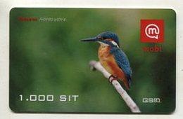 TK16664 SLOVENIA - Prepaid Bird