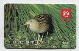 TK16665 SLOVENIA - Prepaid Bird