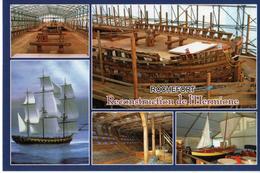 ROCHEFORT - CHANTIER DE LA RECONSTRUCTION DE LA FREGATE HERMIONE - Rochefort