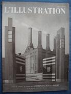 WW II : L'ILLUSTRATION :1941 : PETAIN . BALKANS . MONTESQUIEU . L'INDUSTRIE ELECTRIQUE FRANCAISE . ACTUALITES . Etc .. - Journaux - Quotidiens
