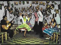 ! - Espagne - Espana Tipica - Danse De Bohémiens Dans La Caverne - Cartes Postales
