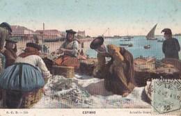 Carte Postale : Espinho  (Portugal) Salage Du Poisson 12 - Belle Scène   SCD N° 110     Arnaldo Soares - Portugal