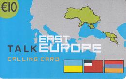 GREECE - Talk East Europe, Altec Telecoms Prepaid Card 10 Euro, Tirage 5000, Exp.date 31/12/05, Sample - Greece