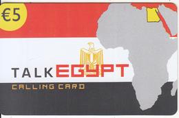 GREECE - Talk Egypt, Altec Telecoms Prepaid Card 5 Euro, Tirage 20000, Exp.date 31/12/05, Sample
