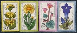 Y&T  N° 474-477 ** Flore