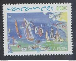 2004 - TIMBRE NEUF - LES VACANCES De Raoul Dufy - N° YT : 3668 - France