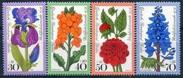 Y&T  N° 488-491 ** Flore