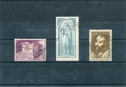"1951-Greece- ""St. Paul"" Almost Complete Set Used/usH (without 10.000dr.) [1.600dr. Light Thin] - Oblitérés"