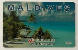 Beach Scene - Maldives