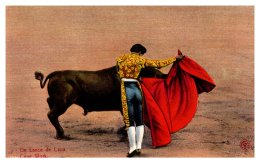 14561  Bull Fighting  Cape Work - Corrida