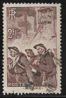 France, Scott # 343 Used Miners, 1938