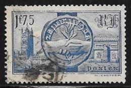 France, Scott # 352 Used Royal Visit, 1938