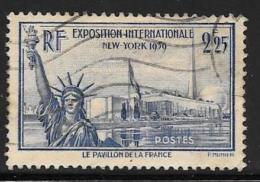 France, Scott # 372 Used Statue Of Liberty, 1939