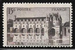 France, Scott #473 Mint Hinged Chenonceaux, 1944
