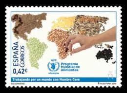 Spain 2015 Mih. 4984 World Food Programme MNH ** - 1931-Heute: 2. Rep. - ... Juan Carlos I