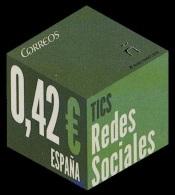 Spain 2015 Mih. 4981 Social Networks MNH ** - 1931-Today: 2nd Rep - ... Juan Carlos I