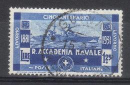 ITALIE  N° 282  SASS  N° 302 (1931) - Usati