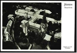 Hildesheim  -  St. Michaeliskirche  -  Luftbild-Ansichtskarte Ca.1965   (7219)