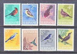 SURINAME  323-30    **  FAUNA  BIRDS