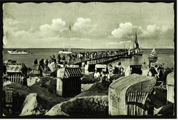 Ostseeheilbad Timmendorfer Strand  -  Partie An Der Landungsbrücke  -  Ansichtskarte Ca.1955   (7210)