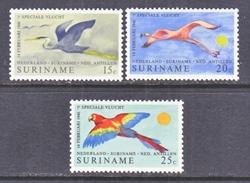 SURINAME  382-4    **  FAUNA  BIRDS