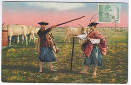 Hungary Hongrie 1923 Elet A Hortobagyon, Leben Auf Der Haide Hortobagy, Gulyasok Rinderhirten, Cow Cows, Farming Types