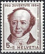 Switzerland 1954 - The Writer Jeremias Gotthelf ( Mi 602 - YT 553 ) MNH**
