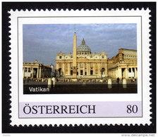 ÖSTERREICH 2015 ** Wallfahrtsort Vatikan - PM Personalized Stamp MNH - Christentum