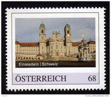 ÖSTERREICH 2015 ** Wallfahrtsort Einsiedeln In Der Schweiz - PM Personalized Stamp MNH - Christentum
