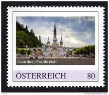 ÖSTERREICH 2015 ** Wallfahrtsort Lourdes In Frankreich - PM Personalized Stamp MNH - Christentum