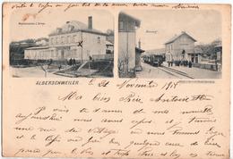 ALBERSCHWEILER-CARTE A 2 VUES - France