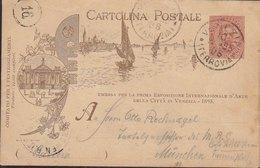 1895 Esposizione Venezia 1895 - Repiquage (vedi 2 Foto)