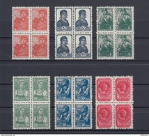 RUSSIA 1938/1956 4-Blocks  MNH (**)