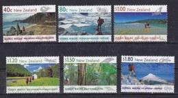 Nuova Zelanda New Zealand 1999 Sentieri Panoramici 1838-43 Mnh - Nouvelle-Zélande