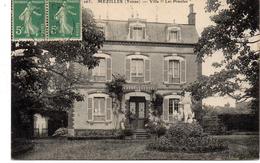 - FRANCE (89) - CPA Ayant Voyagé MEZILLES 1918 - Villa Les Pimoles - Edition Everard 263 - - Autres Communes