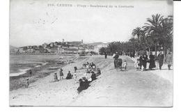 ALPES MARITIMES-CANNES Place Boulevard De La Croisette CPA 525-MO - Cannes