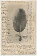 Prix Henry Deutsch Le Santos Dumont Doublant La Tour Eiffel - Dirigibili