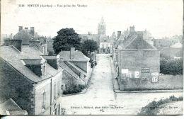 N°30803 -cpa Noyen -vue Prise Du Viaduc- - Francia