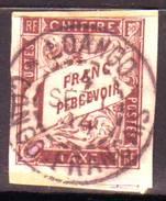Colonies Generales 1 Fr TAXE BRUN N° 15, Cote 40 Euro, Obl LOANGO CONGO , SUPERBE !!!