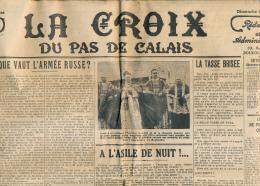 LA CROIX DU PAS-DE-CALAIS (Dimanche 28 Avril 1935), Boulogne-sur-Mer, Fleurbaix... Grand Format - Informations Générales