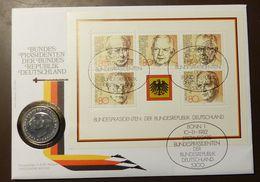 Numisbrief Coin Cover  2 DM Heuss 77D #numis7 - [ 7] 1949-… : RFA - Rép. Féd. D'Allemagne
