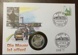 Numisbrief Coin Cover  5 DM  Grundgesetz  Privatganzsache  Bonn 1989 #numis9 - [10] Commémoratives