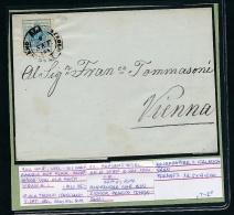 Österreich -alter Beleg -Beschreibung Beachten    ( T2067  ) Siehe Scan - 1850-1918 Imperium