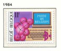 NB- [2116] Belgique 1984, Exportations 'MADE IN BELGIUM', Industrie Des Technologies Nouvelles, SNC - Usines & Industries