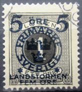 SUEDE             N° 87             OBLITERE - Zweden