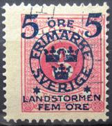 SUEDE             N° 88             OBLITERE - Zweden