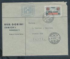 Schweiz- Luftpost Beleg    ( Ze4967  ) Siehe Scan